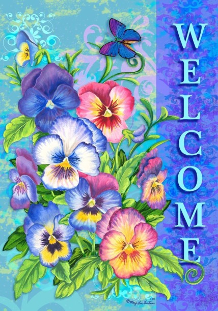 WELCOME PANSIE