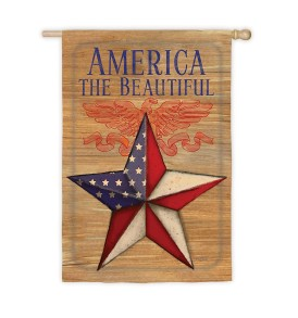 US Flag Store Patriotic Garden Flag, America The Beautiful