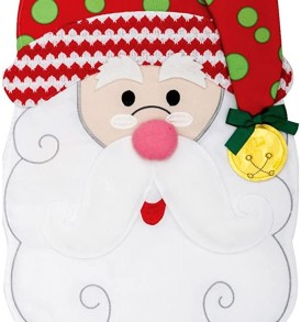 Santa jingle bell Applique