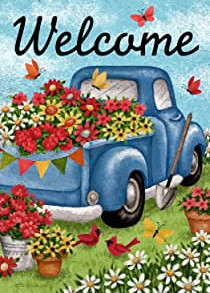flower truck welcome