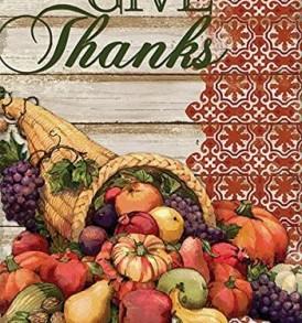 give thanks cornucopia