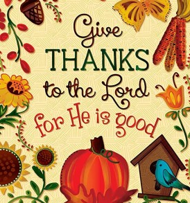 give thanks to Lord